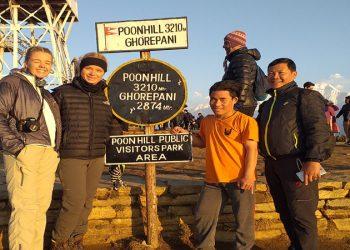 Kathmandu Poon hill trek 5 days