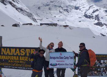Nepal Annapurna Base Camp Trek 8 days