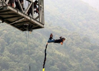 bungee jumping in pokhara