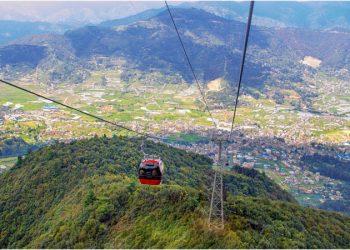 chandragiri cable car ride tour