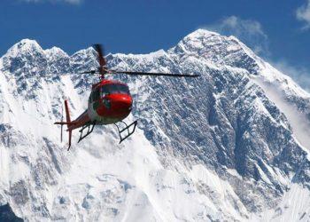 everest base camp helicopter tour in nepal