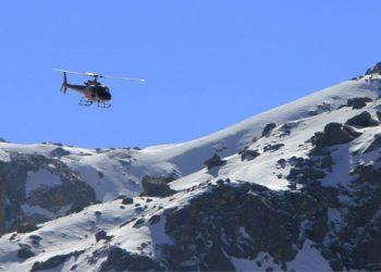 Manaslu Helicopter Trek