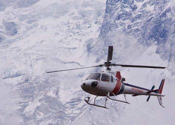 Mustang-Helicopter-Trek