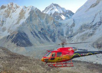 nepal everest base camp heli trek