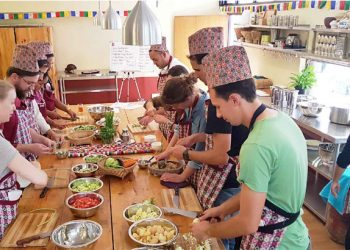 Nepali cooking course training