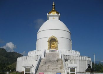 World-peace-stupa-hiking